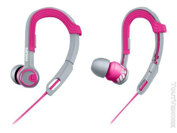 Philips actionfit sports shq3300pk - écouteurs -