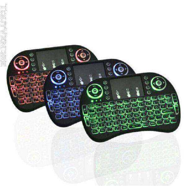 Smart mini slim clavier sans fil avec pavé tactile souris