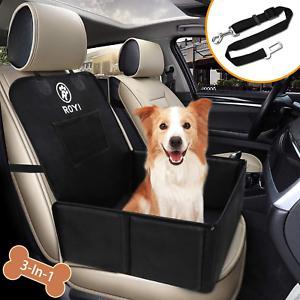 Wimypet siège auto chien pour voiture avec ceinture
