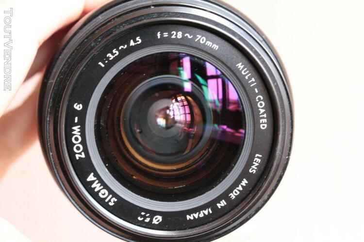 Zoom af sigma 28-70 mm 3,5 4,5 minolta dynax