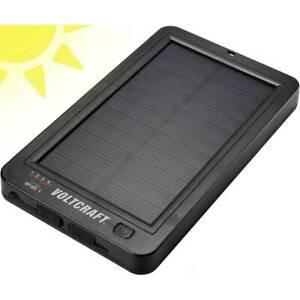 Chargeur solaire voltcraft sl-5 sl5 capacité (mah, ah) 6000