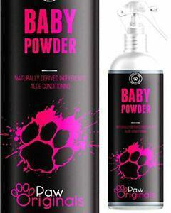 Paw origins baby powder eau de cologne pour chien parfum