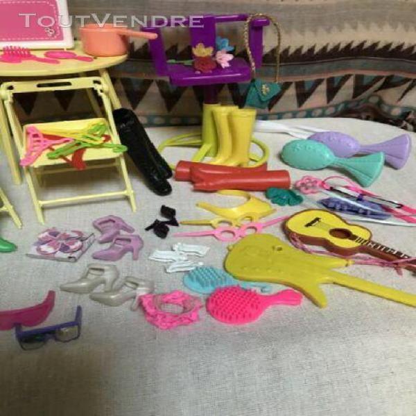 Accessoires pour barbie mattel et autres poupées
