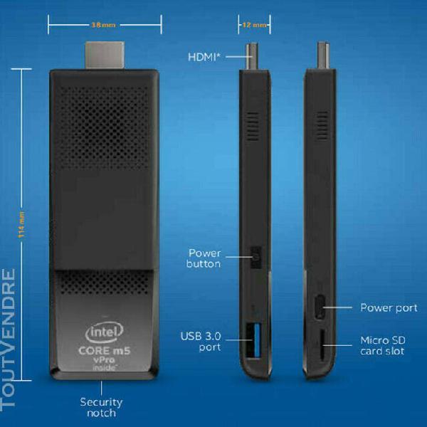 Intel compute stick m5stk2mv64cc intel® core™ m5-6y57