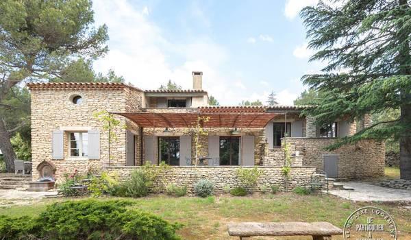 Location maison gordes 10personnes dès 2.350€ par