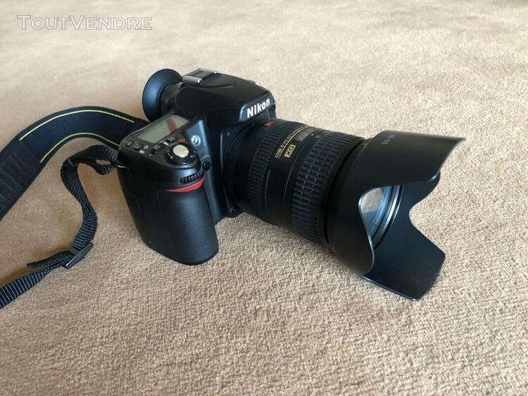 Nikon d80 appareil photo numérique reflex 10.2 + objectif