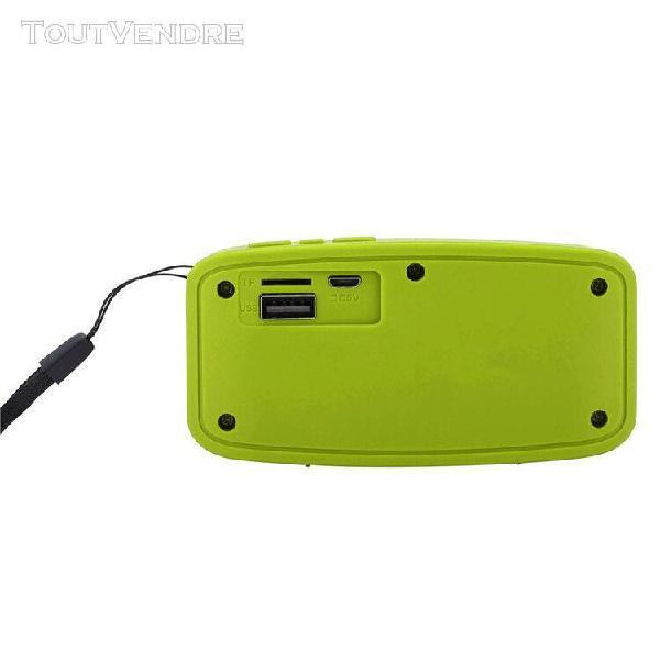 Portable bluetooth stéréo sans fil audio carte sd