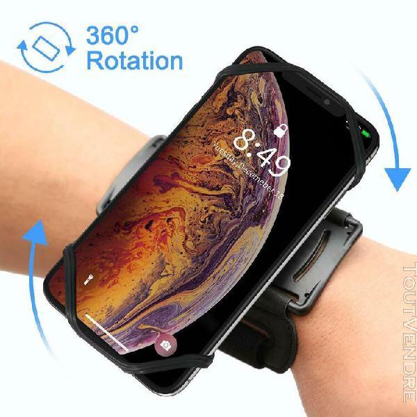 Vup brassard 180° rotation de sport pour smartphone