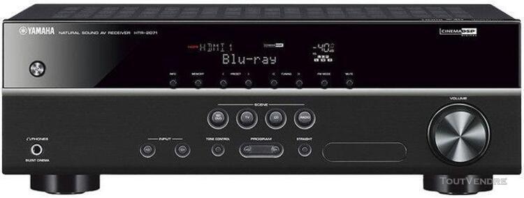 Yamaha htr-2071 noir
