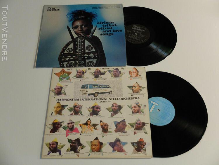 13 vinyles 33t king cobra, black blood, king sunny ade, sali