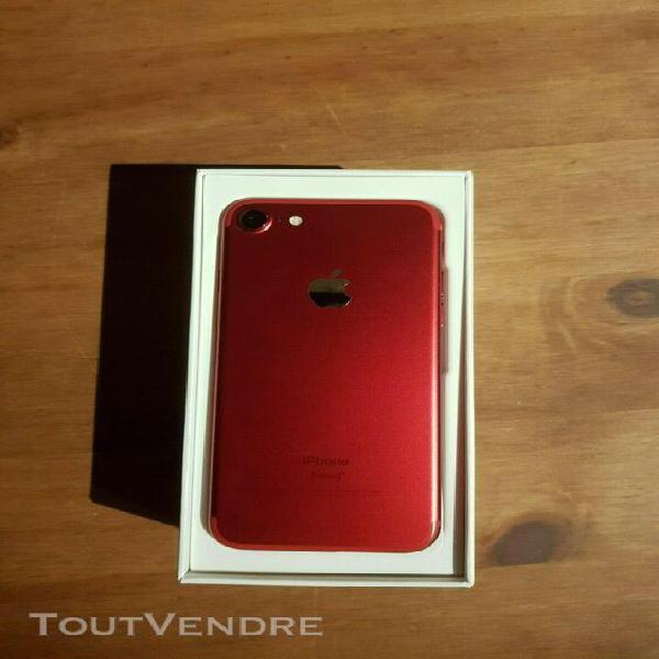Apple iphone 7 (product)red-128 go-(désimlocké) excellent