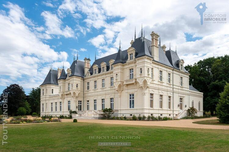 France dept 49 a vendre anjou angers nantes chateau propriet