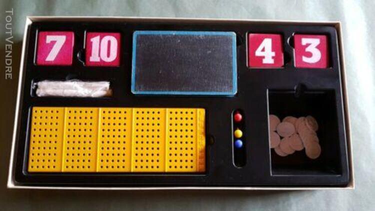 Jeux de societe vintage le compte est bon 1972 robert