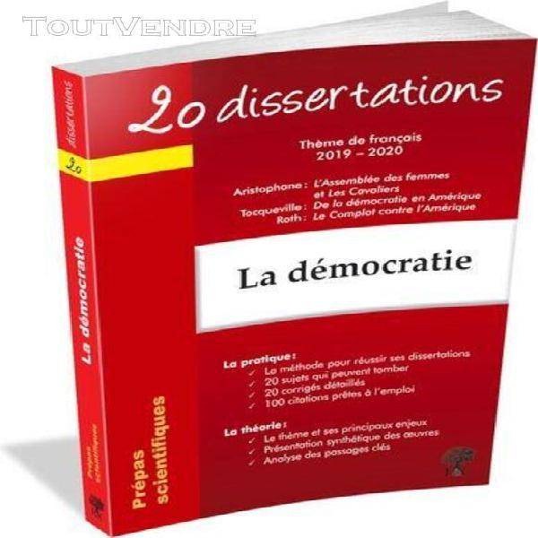 Dissertation Démocratie | Etudier