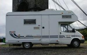 Location camping car 2, 4, 6 places