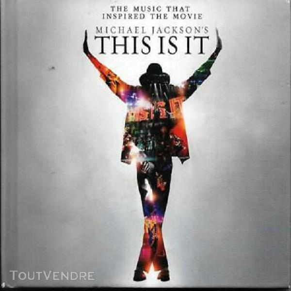 "Michael jackson's ""this is it"" (2 x cd digipack) movie"