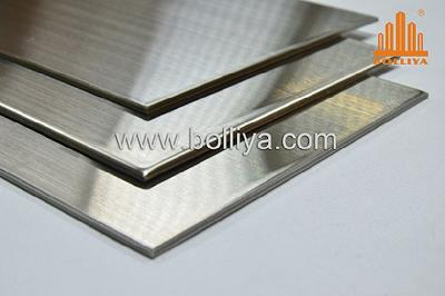 Panneau d'aluminium composite pour revêtement de façade