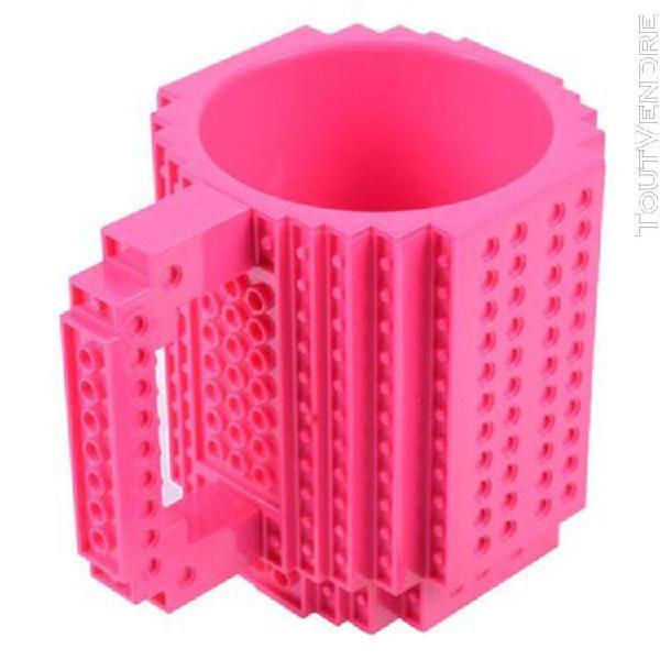 Personnalite creative assemblee tasse bricolage cylindrique