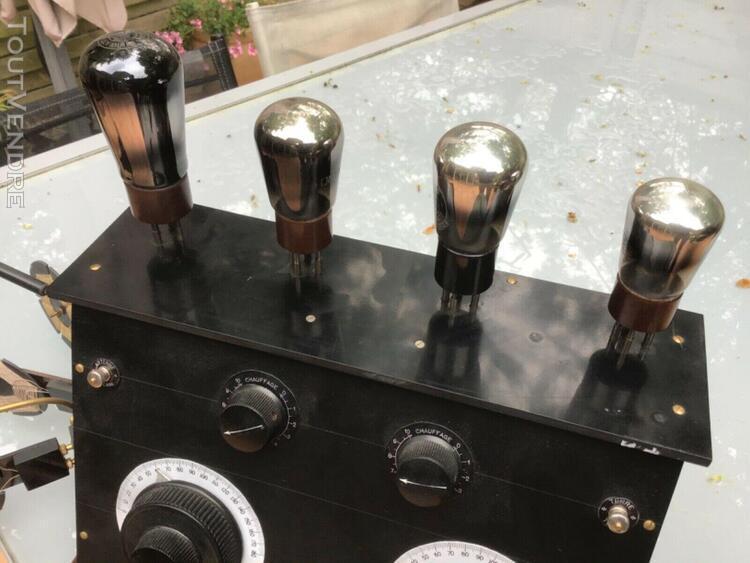 Radio a 4 lampes extérieur