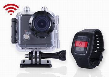 Sports cubic hd 1080p caméra d'action wi-fi configurable