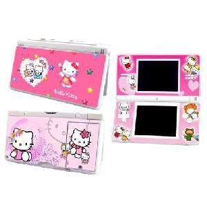 Stickers hello kitty rose pour nintendo ds lite, envoi
