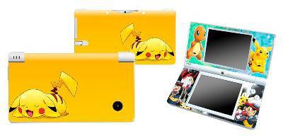 Stickers pour nintendo ds lite ou dsi pokemon pikachu, envoi