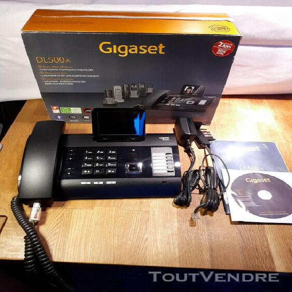 Telephone fixe / standart telephonique gigaset dl 500a