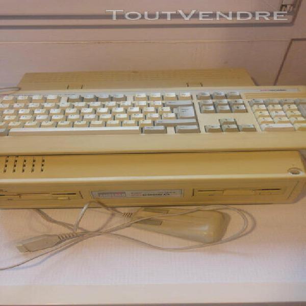 Vintage amstrad pc2086d + moniteur clavier souris et imprima