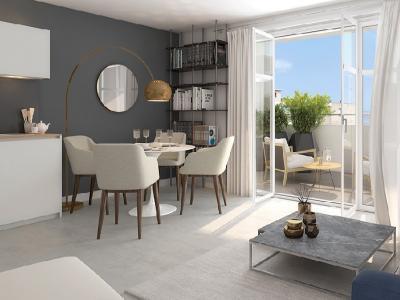 Appartement à vendre roquebrune-cap-martin 3 pièces 76 m2