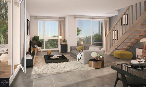 Appartement à vendre toulouse 2 pièces 48 m2 haute garonne