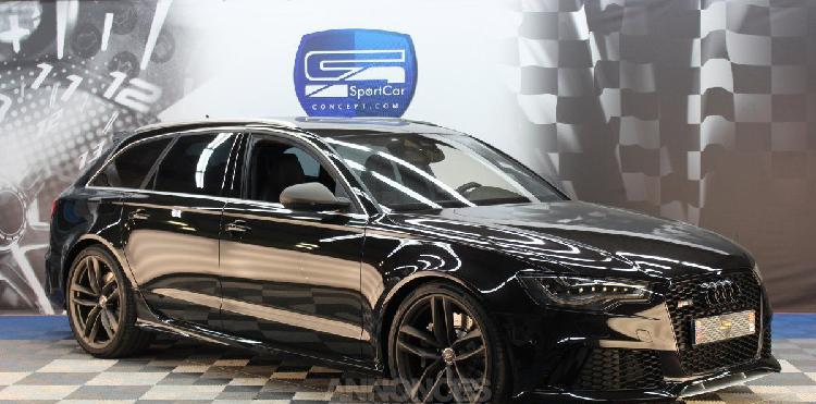 Audi rs6 4.0 v8 bi-turbo 560ch quattro avant / break