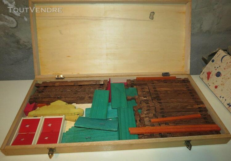 Boite de jeu construction en bois