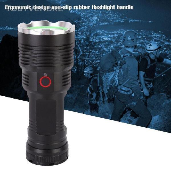Extérieure portable led usb lampe de poche torche haute