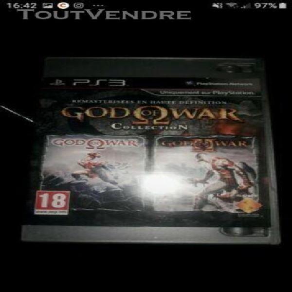 Jeux de ps.3 god of war collection