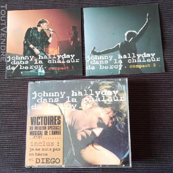 Johnny hallyday - dans la chaleur de bercy 2xcd, album live