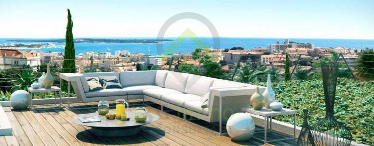 Programme immobilier neuf cannes 3 pièces 69 m2 alpes
