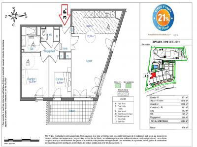 Programme immobilier neuf nice 3 pièces 70 m2 alpes
