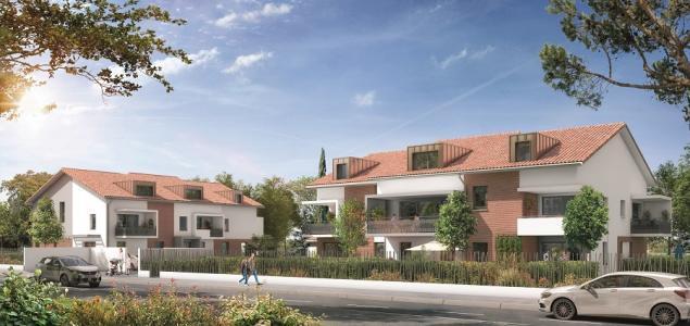 Programme immobilier neuf toulouse 38 m2 haute garonne