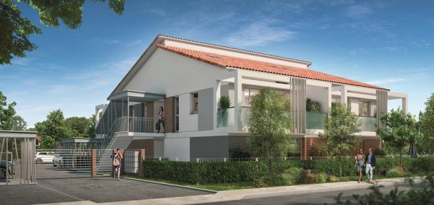 Programme immobilier neuf toulouse 39 m2 haute garonne
