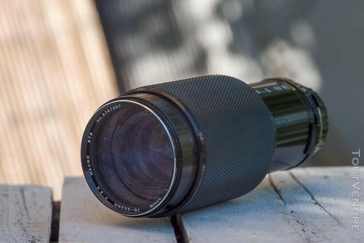 Soligor tele zoom 70-222 mm f 3,5 macro in olympus om moun