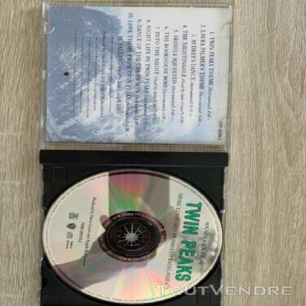 Twin peaks [original television soundtrack] by angelo badala
