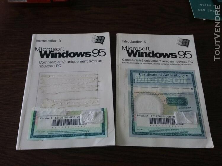 2 introduction microsoft windows 95 avec 2 certificats (san