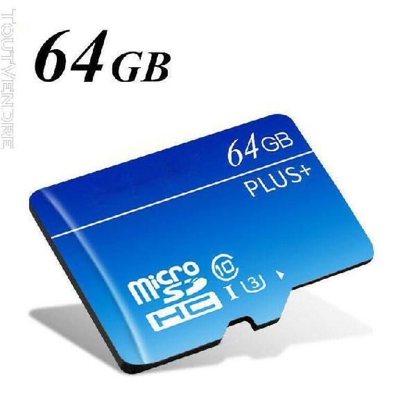 32gb 64gb 128gb 256gb carte memoire sdhc flash avec carte sd