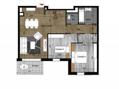 Appartement à vendre annemasse 3 pièces 68 m2 haute savoie