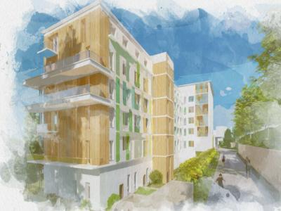 Appartement à vendre havre 2 pièces 65 m2 seine maritime