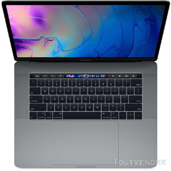 """Apple macbook pro with touch bar mv902ll/a - mi-2019 - 15.4"""""""