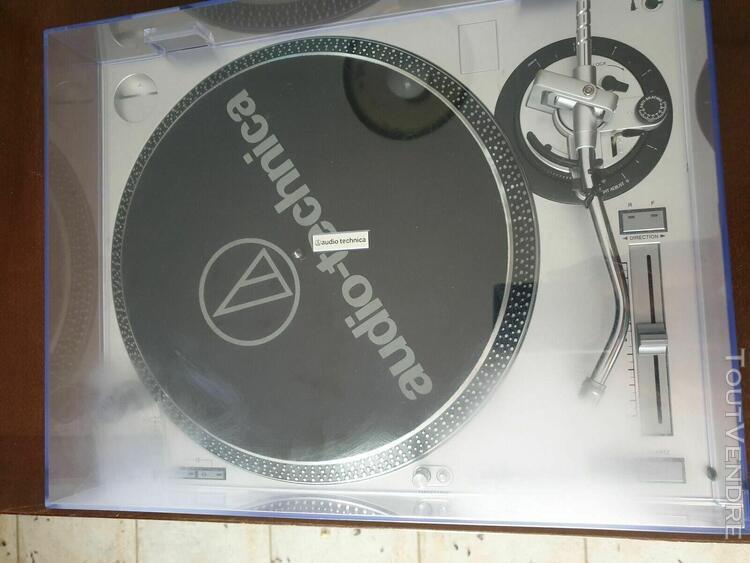 Audio-technica at-lp120-usb silver (platine vinyle)