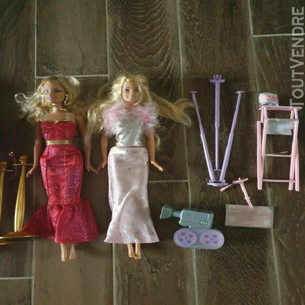 Barbie lot 2 poupées star de cinéma 2003 et 2012