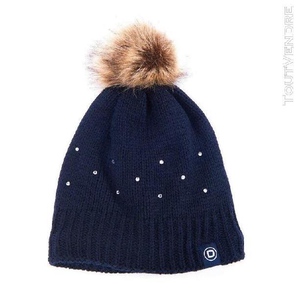 Dublin - bonnet bobble - femme (bleu marine) - utwb243
