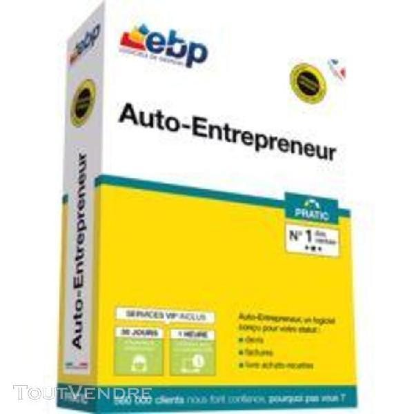 Ebp auto-entrepreneur pratic - version boîte + services vip